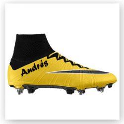 Botas de fútbol personalizadas