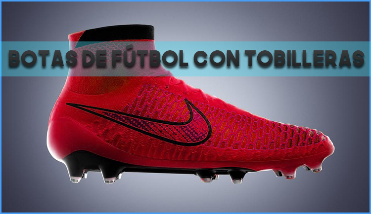Botas de fútbol con tobilleras