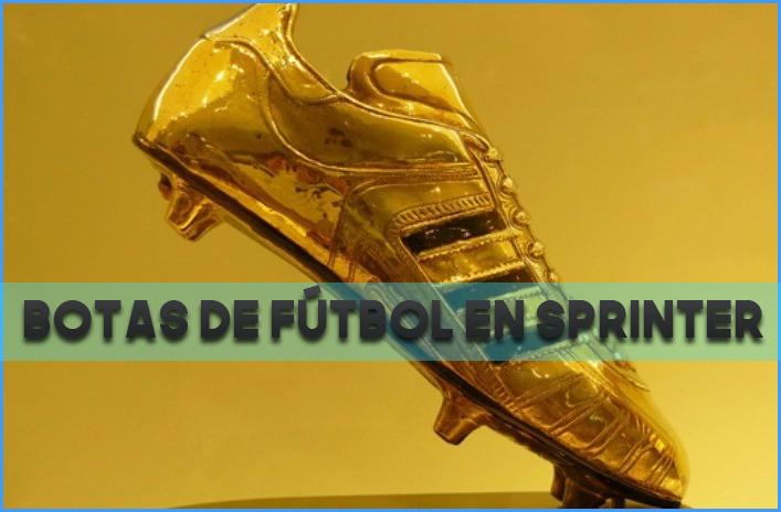 Botas de fútbol en Sprinter